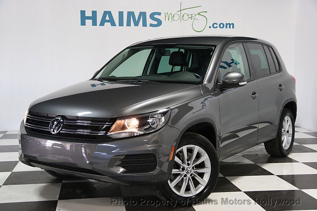 2014 Used Volkswagen Tiguan 2wd 4dr Automatic Sel At Haims Motors Serving Fort Lauderdale