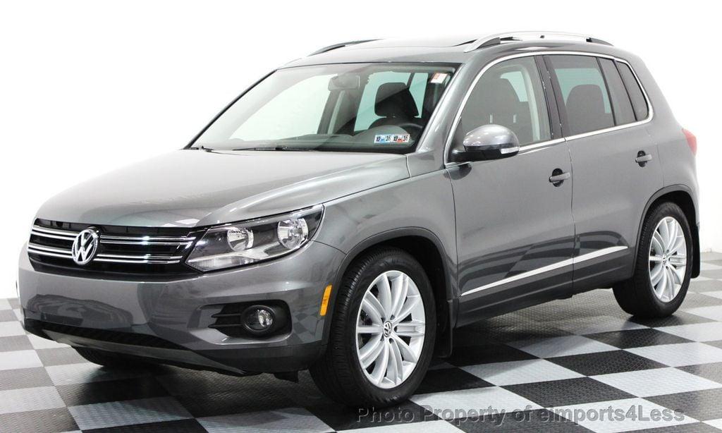 2017 Volkswagen Tiguan Certified Sel 2 0t 4motion Awd Suv Camera Navi 15783997