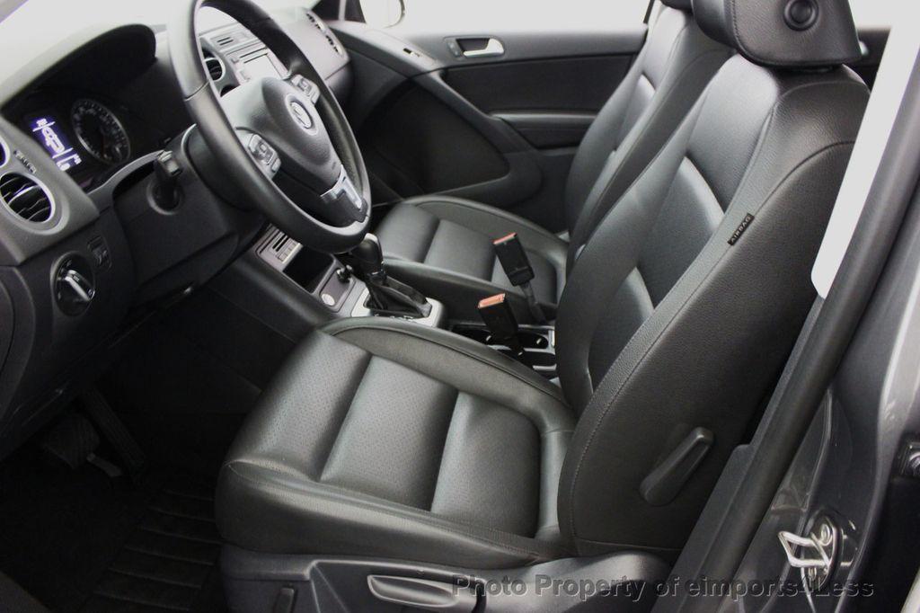 2014 Used Volkswagen Tiguan CERTIFIED TIGUAN SEL 2.0t 4Motion AWD ...