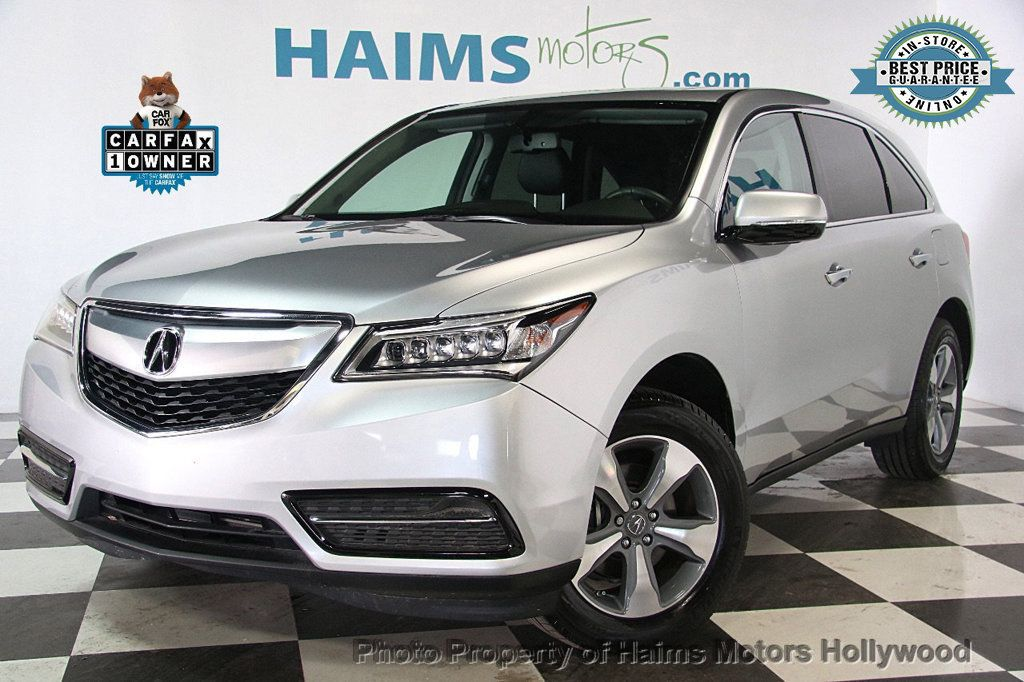 2015 Acura MDX FWD 4dr - 17334336 - 0