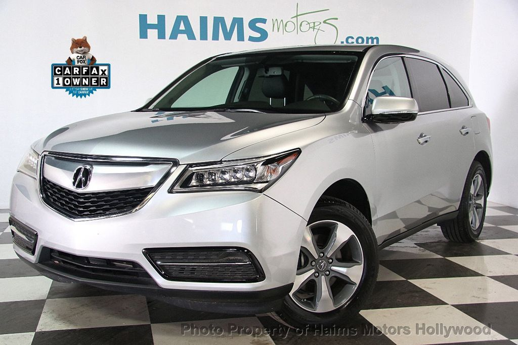 2015 Acura MDX FWD 4dr - 17334336 - 1