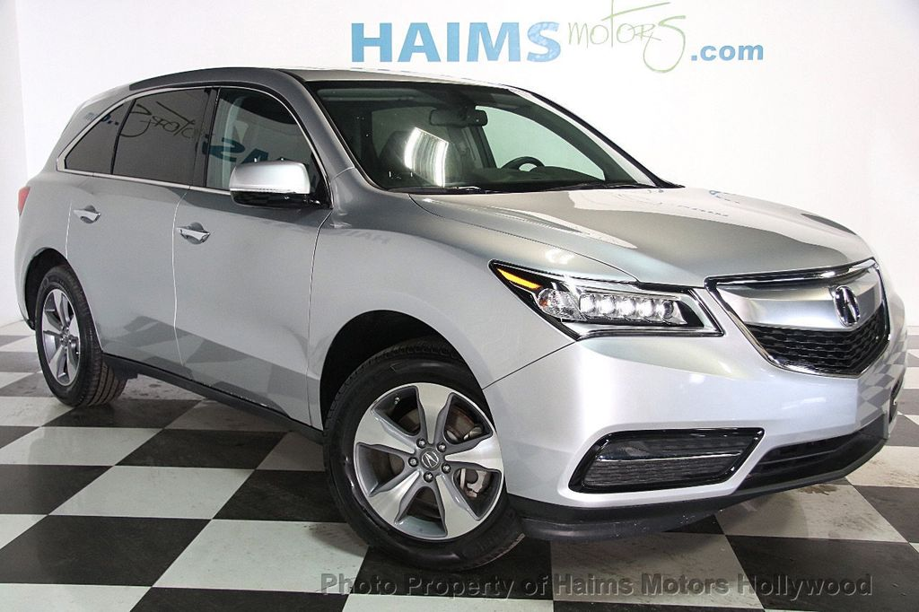 2015 Acura MDX FWD 4dr - 17334336 - 4