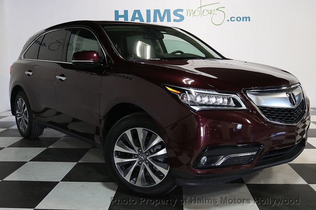2015 used acura mdx fwd 4dr tech pkg at haims motors serving fort lauderdale hollywood miami. Black Bedroom Furniture Sets. Home Design Ideas