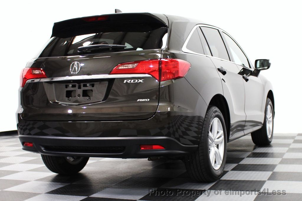 2015 used acura rdx certified rdx tech awd suv camera navigation