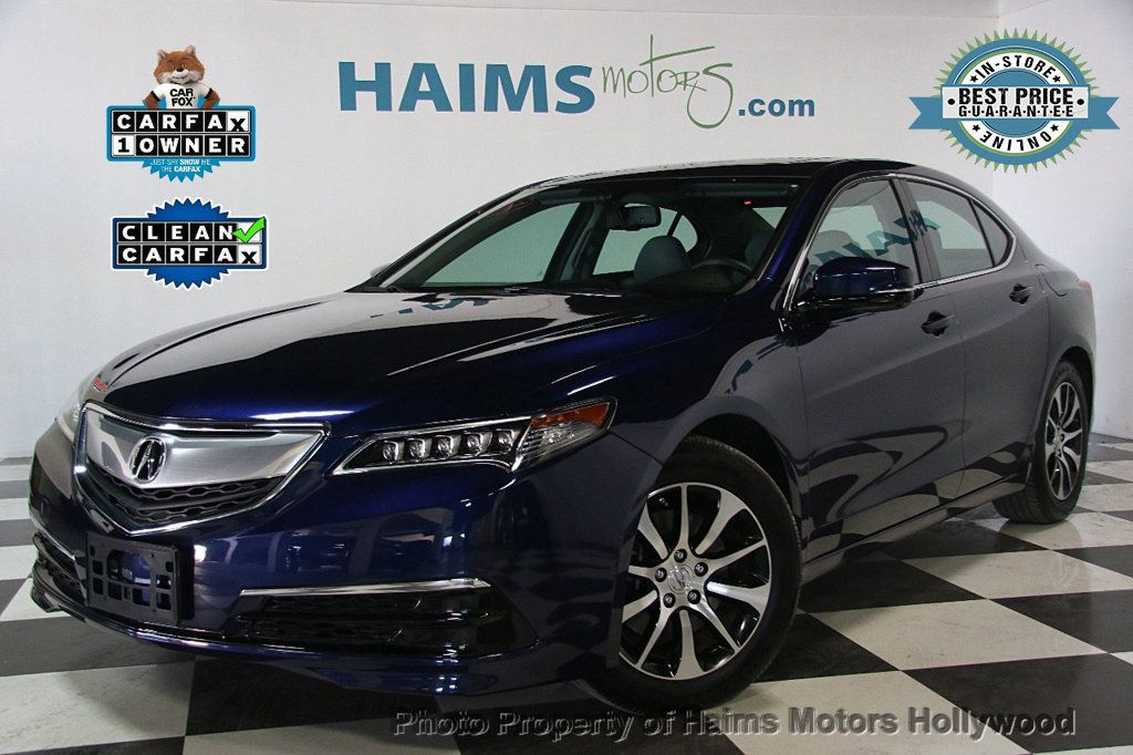 2015 acura tlx 4dr sedan fwd sedan for sale in hollywood fl 19 699 on. Black Bedroom Furniture Sets. Home Design Ideas
