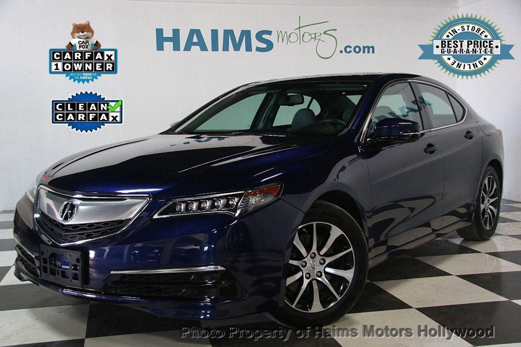 2015 Acura TLX 4dr Sedan FWD - 17174108 - 0