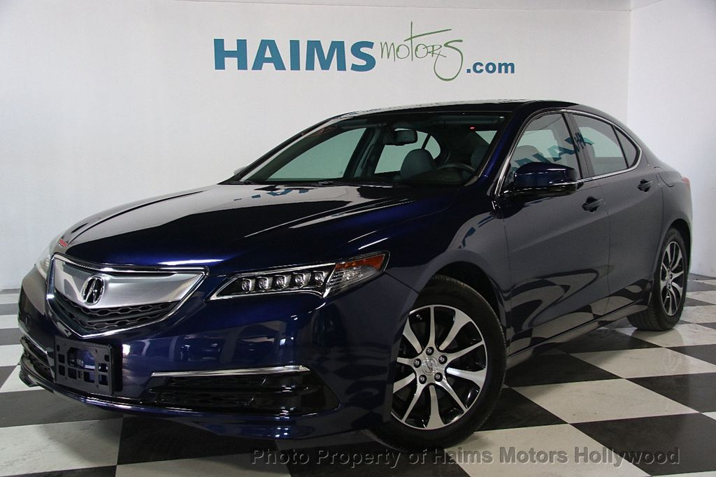 2015 Used Acura TLX 4dr Sedan FWD at Haims Motors Serving Fort Lauderdale, Hollywood, Miami, FL ...