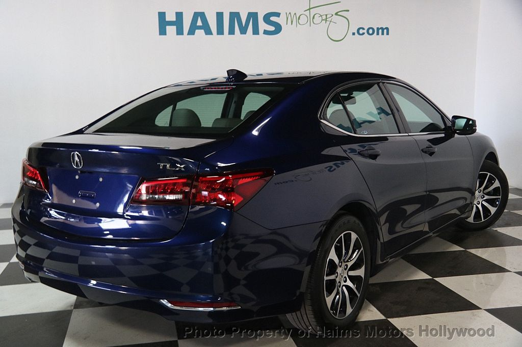 2015 used acura tlx 4dr sedan fwd at haims motors serving fort lauderdale hollywood miami fl. Black Bedroom Furniture Sets. Home Design Ideas