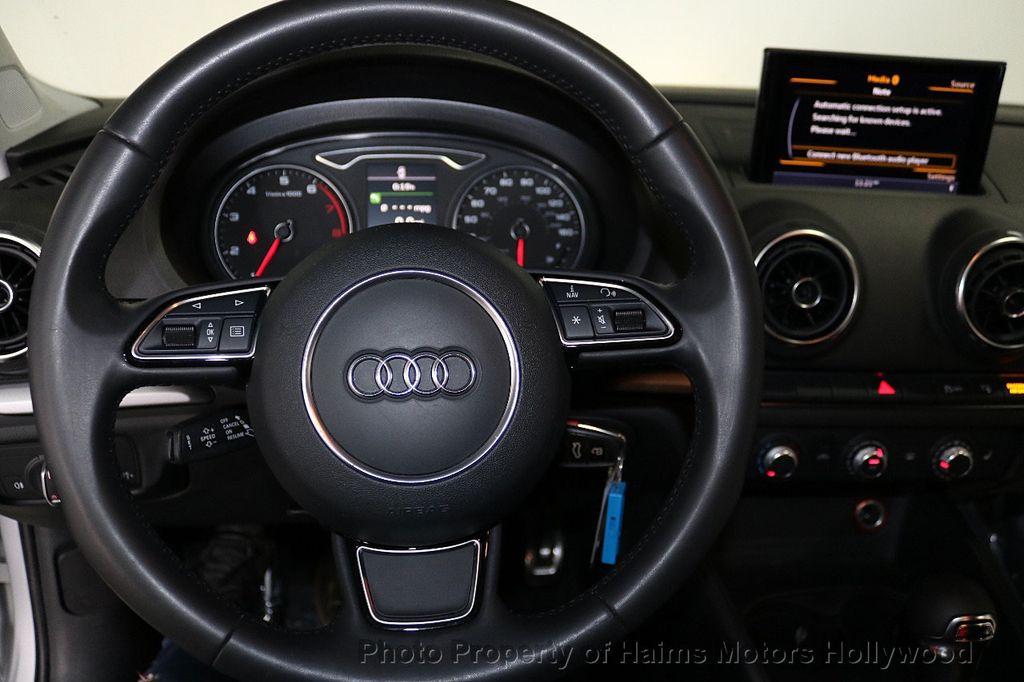 2015 Audi A3 4dr Sedan FWD 1.8T Premium - 18468139 - 25