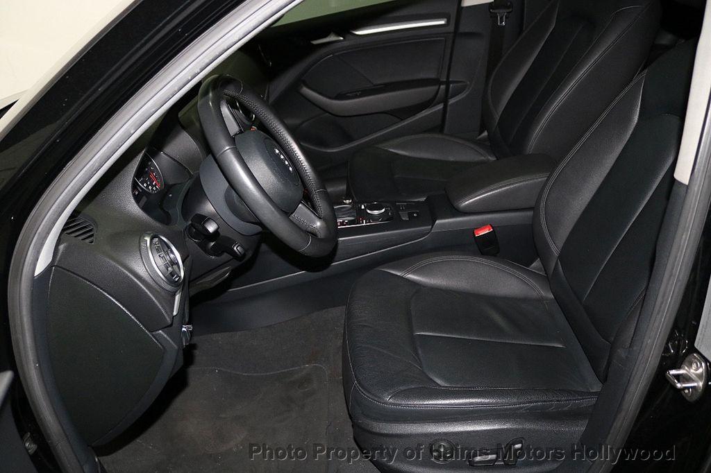 2015 Audi A3 4dr Sedan FWD 1.8T Premium - 18629856 - 17