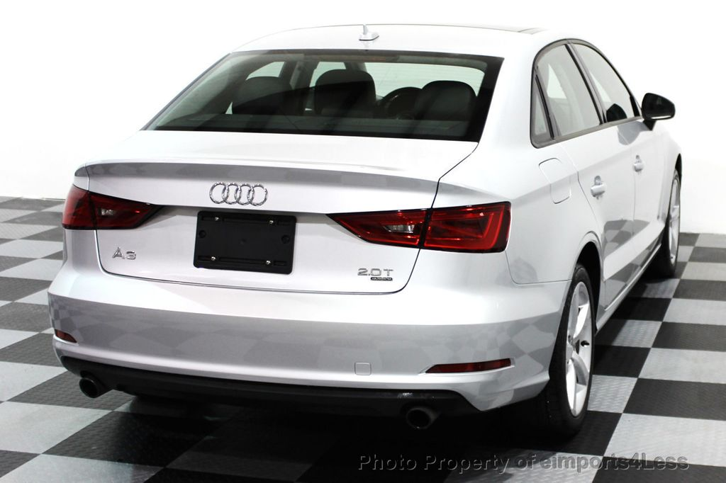 2015 Audi A3 CERTIFIED A3 2.0t Quattro ALL WHEEL DRIVE - 16237480 - 23