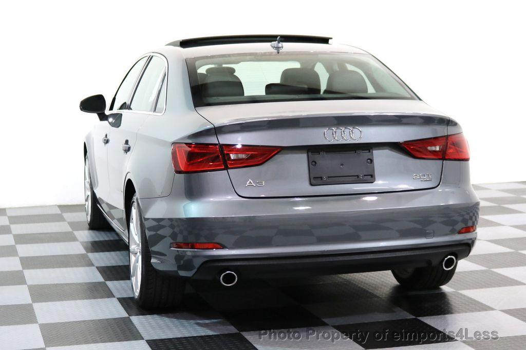 2015 Audi A3 CERTIFIED A3 2.0T Quattro AWD NAVIGATION - 17132058 - 17