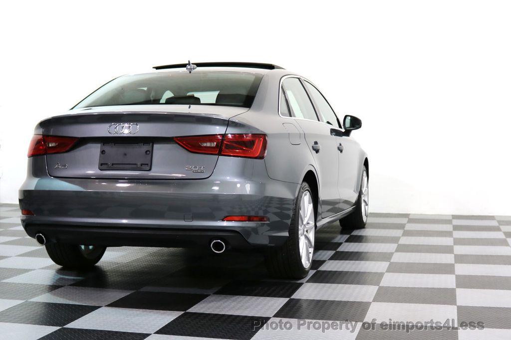 2015 Audi A3 CERTIFIED A3 2.0T Quattro AWD NAVIGATION - 17132058 - 32