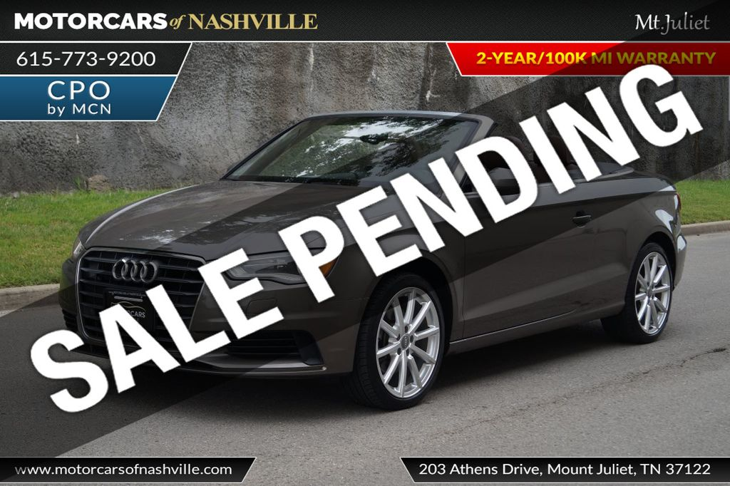 2015 Audi A3 Cabriolet 2dr Cabriolet FWD 1.8T Premium Plus - 17900574 - 0
