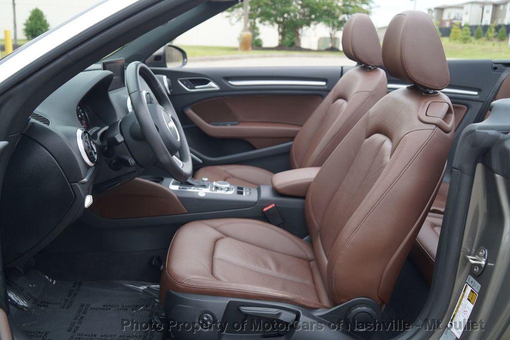 2015 Audi A3 Cabriolet 2dr Cabriolet FWD 1.8T Premium Plus - 17900574 - 27