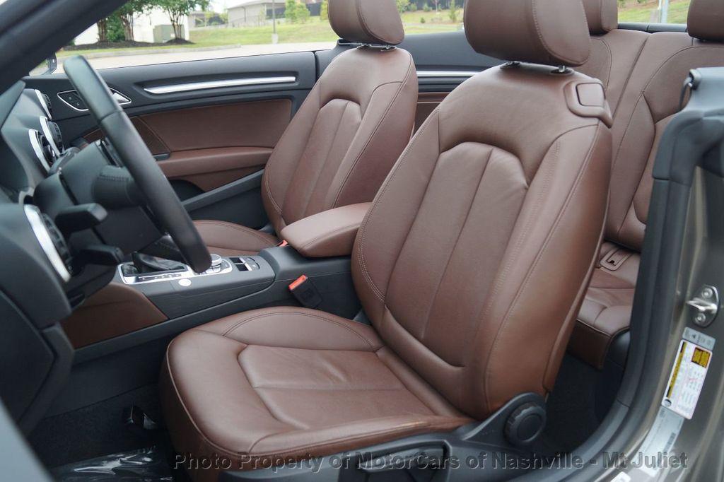2015 Audi A3 Cabriolet 2dr Cabriolet FWD 1.8T Premium Plus - 17900574 - 28