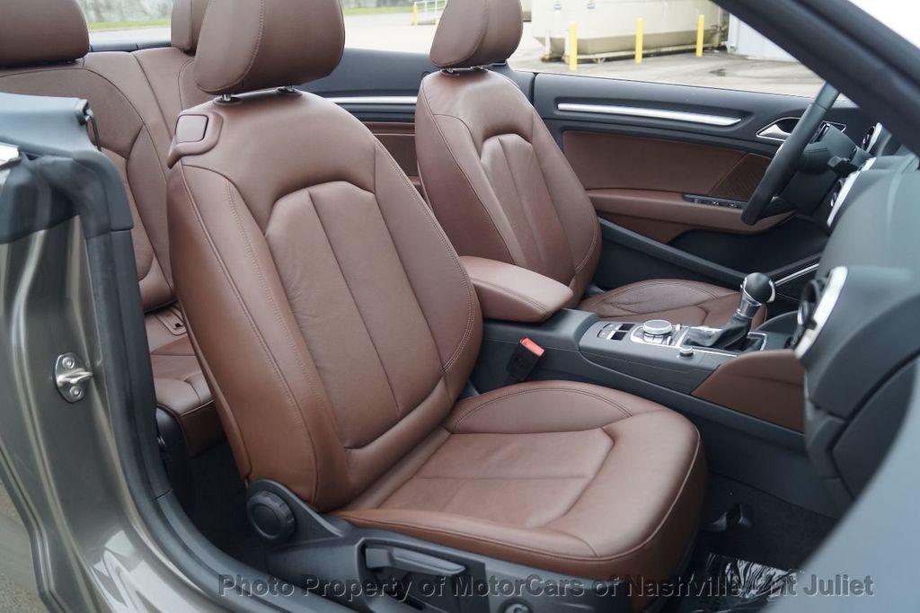 2015 Audi A3 Cabriolet 2dr Cabriolet FWD 1.8T Premium Plus - 17900574 - 31