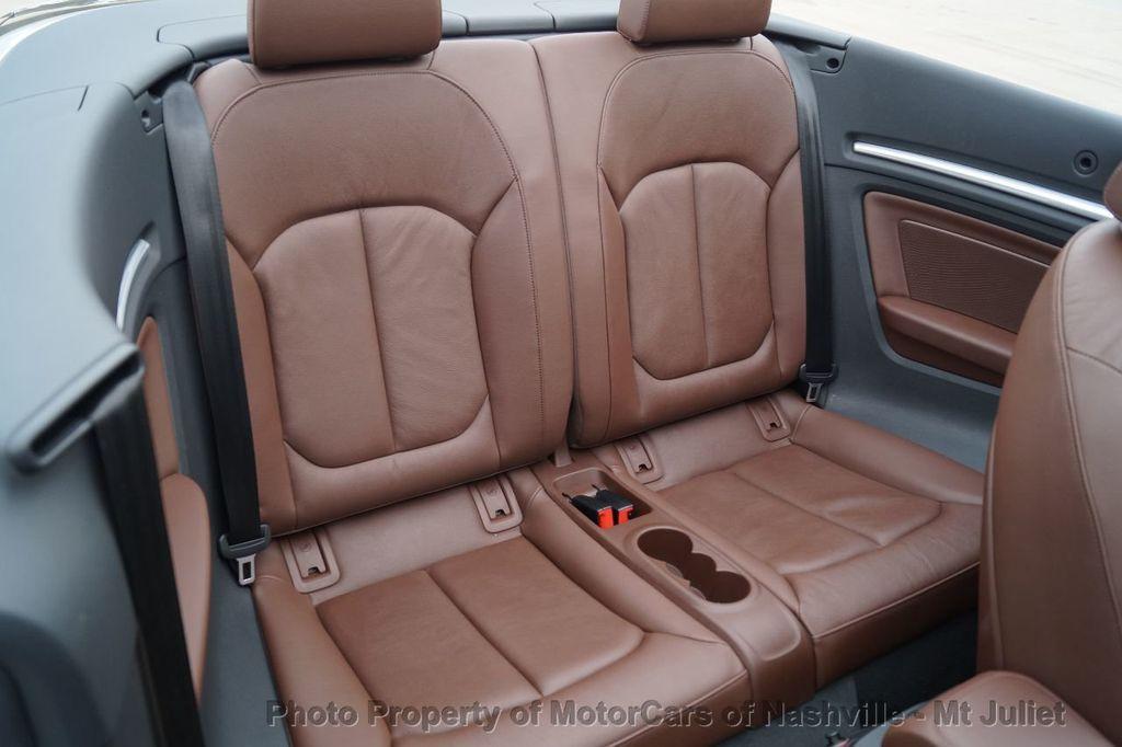 2015 Audi A3 Cabriolet 2dr Cabriolet FWD 1.8T Premium Plus - 17900574 - 32