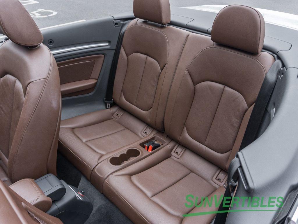 2015 Audi A3 Cabriolet 2dr Cabriolet quattro 2.0T Prestige - 17453885 - 30
