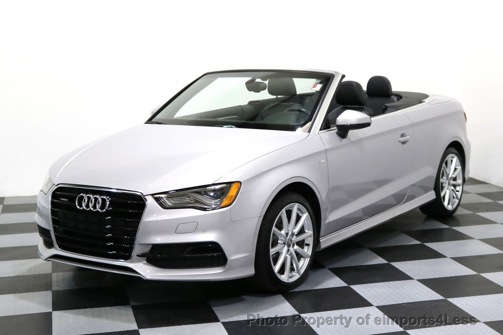 2015 Audi A3 Cabriolet CERTIFIED A3 2.0T Quattro PRESTIGE AWD CABRIOLET - 17160380 - 0