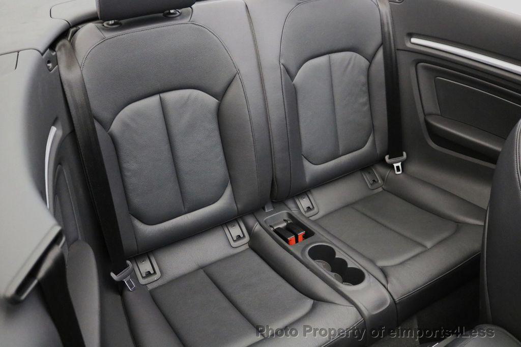 2015 Audi A3 Cabriolet CERTIFIED A3 2.0T Quattro PRESTIGE AWD CABRIOLET - 17160380 - 10