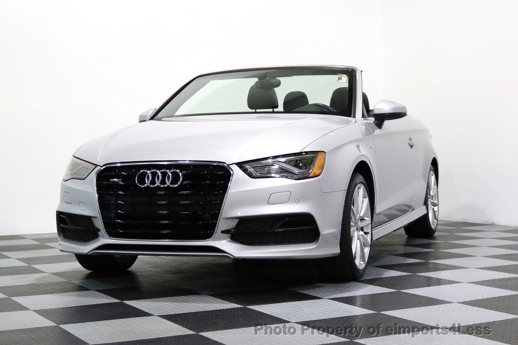 2015 Audi A3 Cabriolet CERTIFIED A3 2.0T Quattro PRESTIGE AWD CABRIOLET - 17160380 - 13