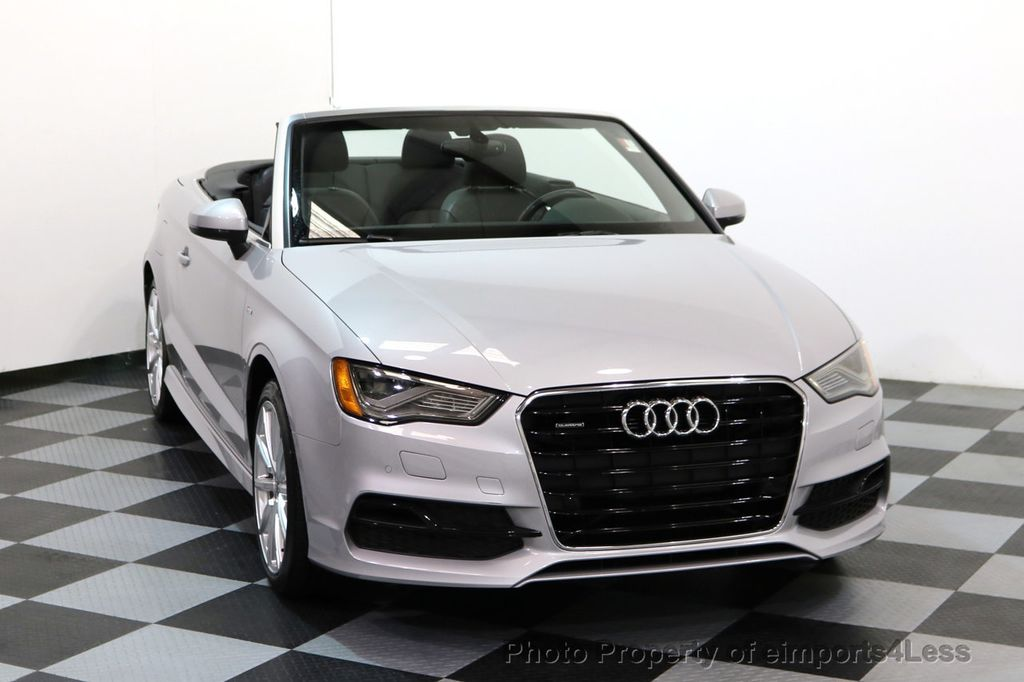 2015 Audi A3 Cabriolet CERTIFIED A3 2.0T Quattro PRESTIGE AWD CABRIOLET - 17160380 - 14