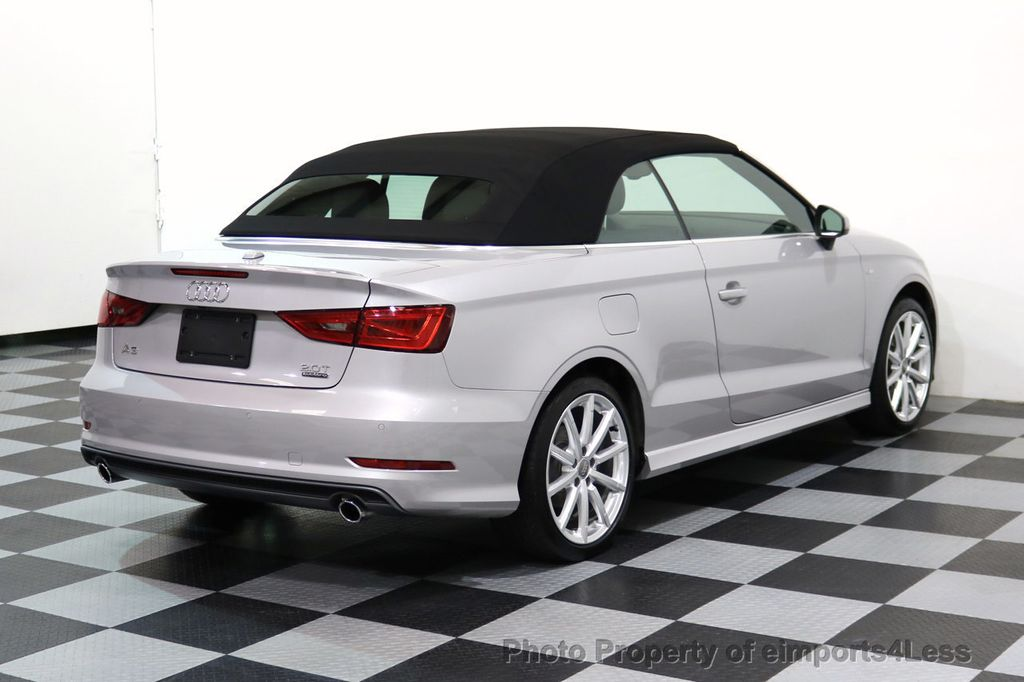 2015 Audi A3 Cabriolet CERTIFIED A3 2.0T Quattro PRESTIGE AWD CABRIOLET - 17160380 - 17