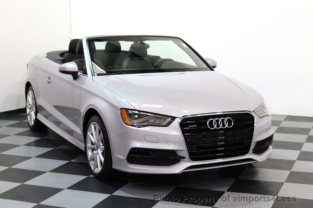 2015 Audi A3 Cabriolet CERTIFIED A3 2.0T Quattro PRESTIGE AWD CABRIOLET - 17160380 - 1