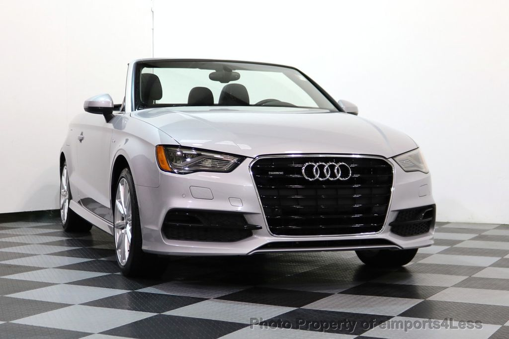 2015 Audi A3 Cabriolet CERTIFIED A3 2.0T Quattro PRESTIGE AWD CABRIOLET - 17160380 - 27