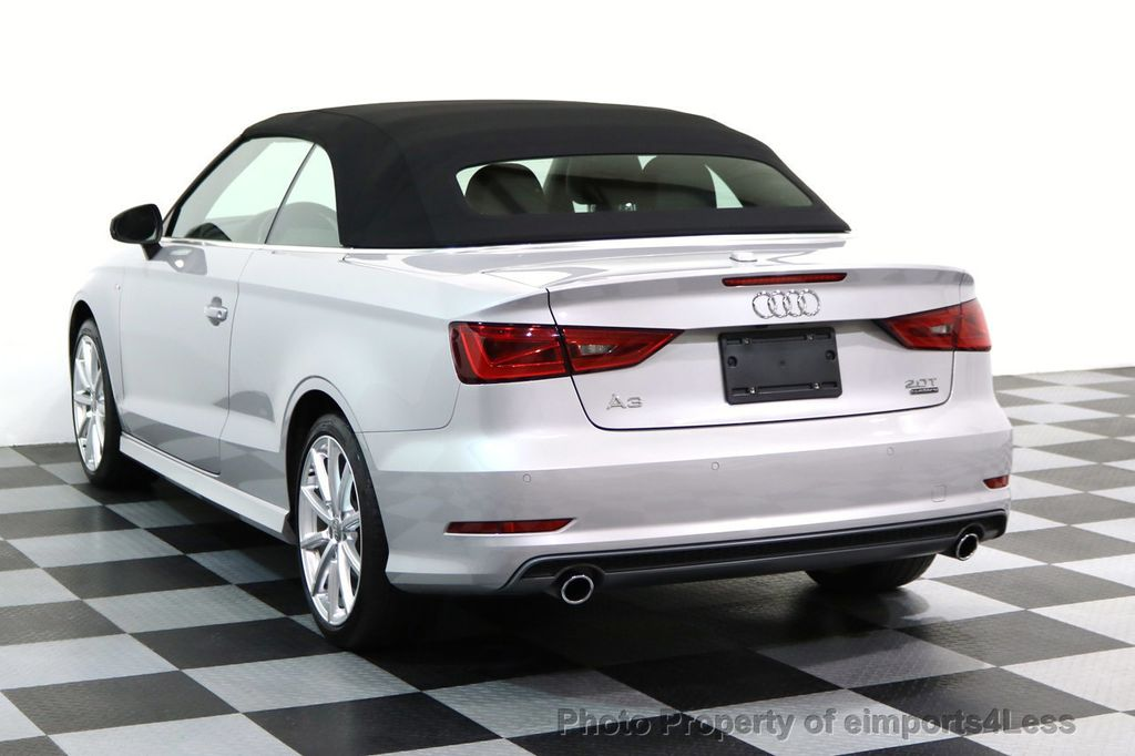 2015 Audi A3 Cabriolet CERTIFIED A3 2.0T Quattro PRESTIGE AWD CABRIOLET - 17160380 - 2