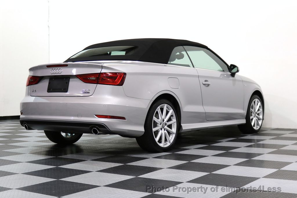 2015 Audi A3 Cabriolet CERTIFIED A3 2.0T Quattro PRESTIGE AWD CABRIOLET - 17160380 - 30