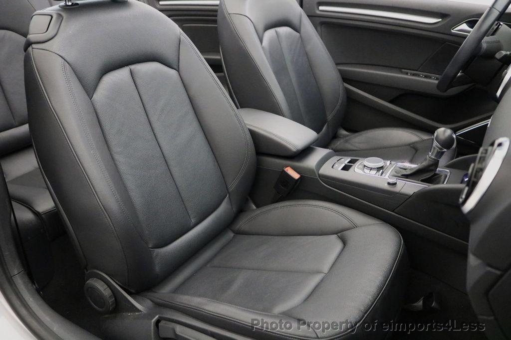 2015 Audi A3 Cabriolet CERTIFIED A3 2.0T Quattro PRESTIGE AWD CABRIOLET - 17160380 - 34