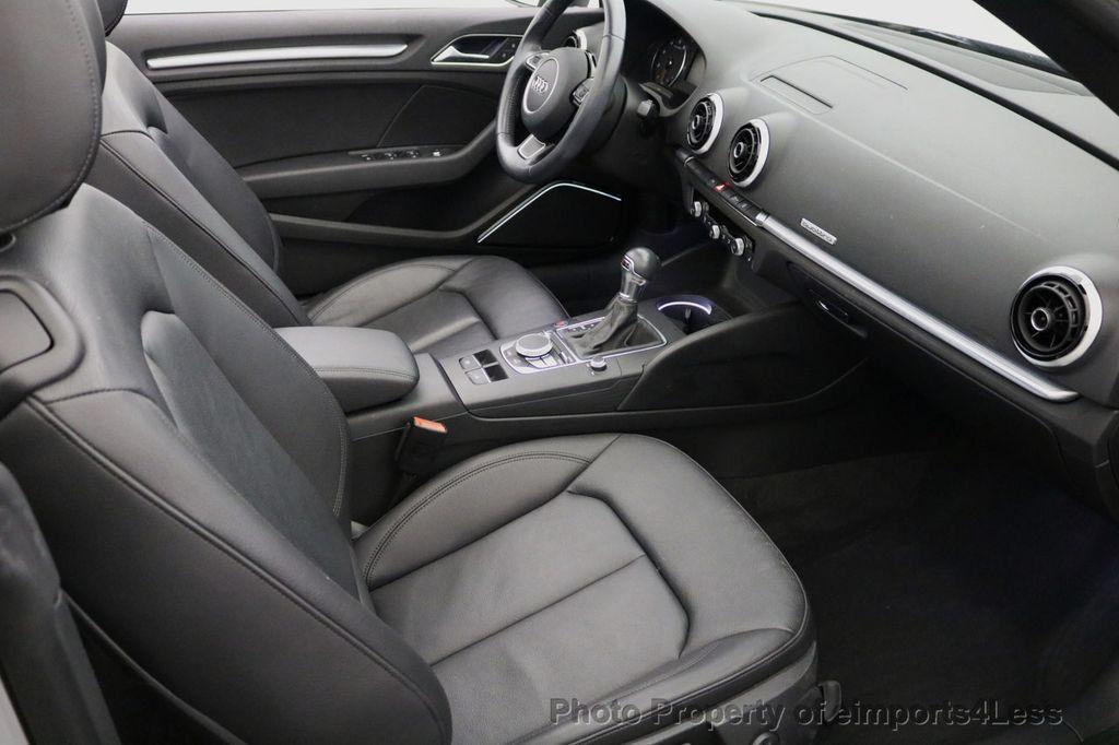 2015 Audi A3 Cabriolet CERTIFIED A3 2.0T Quattro PRESTIGE AWD CABRIOLET - 17160380 - 37