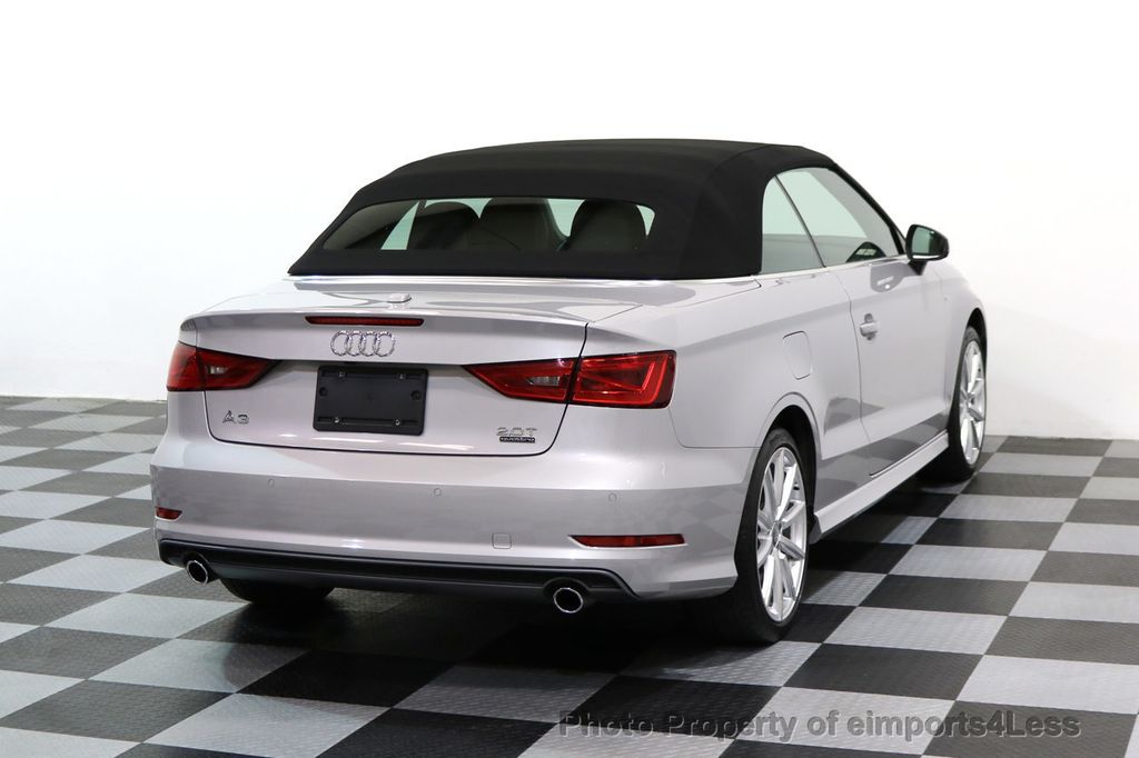 2015 Audi A3 Cabriolet CERTIFIED A3 2.0T Quattro PRESTIGE AWD CABRIOLET - 17160380 - 3