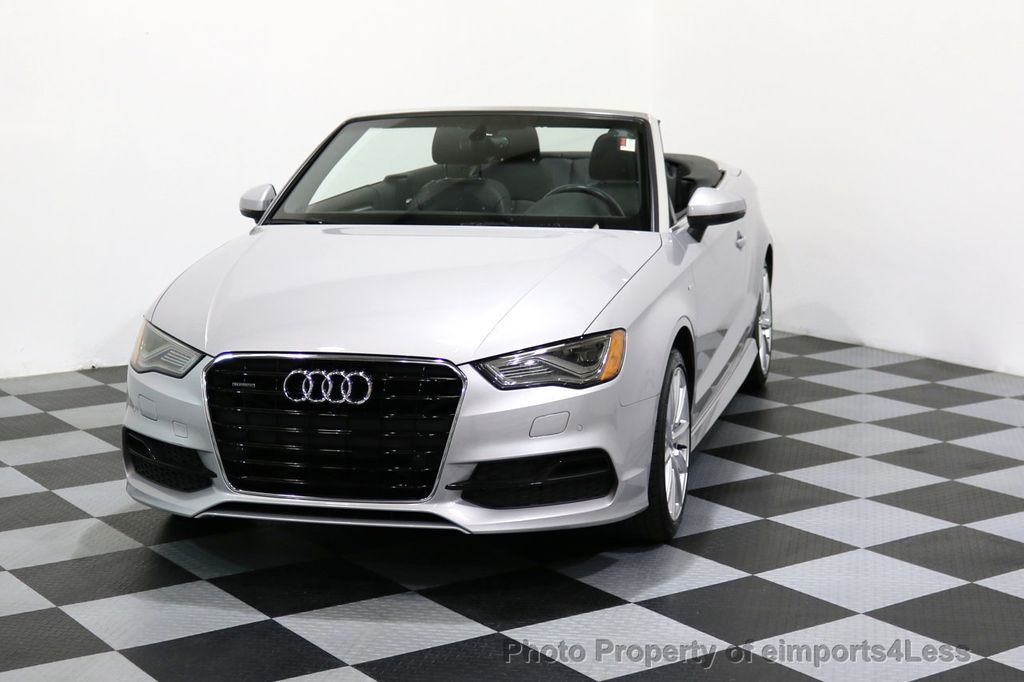 2015 Audi A3 Cabriolet CERTIFIED A3 2.0T Quattro PRESTIGE AWD CABRIOLET - 17160380 - 40