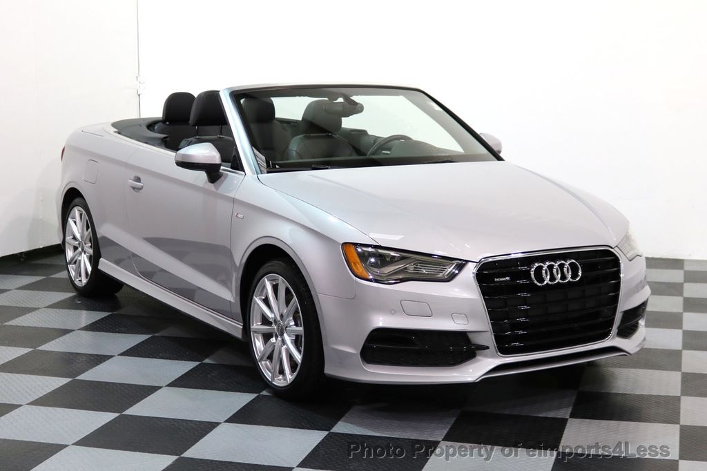 2015 Audi A3 Cabriolet CERTIFIED A3 2.0T Quattro PRESTIGE AWD CABRIOLET - 17160380 - 41