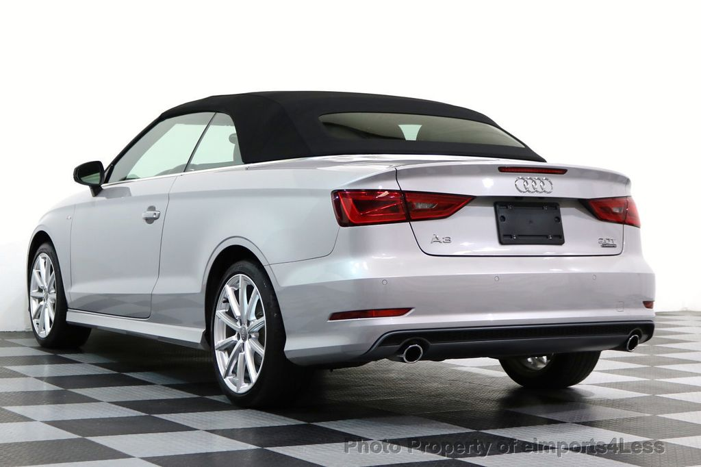 2015 Audi A3 Cabriolet CERTIFIED A3 2.0T Quattro PRESTIGE AWD CABRIOLET - 17160380 - 42