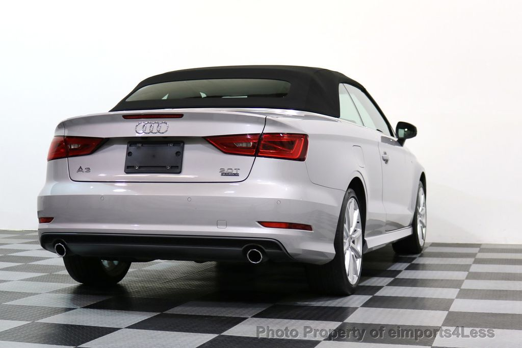 2015 Audi A3 Cabriolet CERTIFIED A3 2.0T Quattro PRESTIGE AWD CABRIOLET - 17160380 - 43