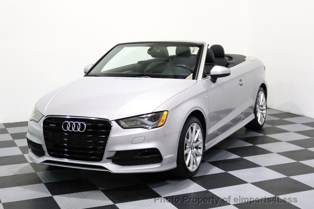 2015 Audi A3 Cabriolet CERTIFIED A3 2.0T Quattro PRESTIGE AWD CABRIOLET - 17160380 - 44