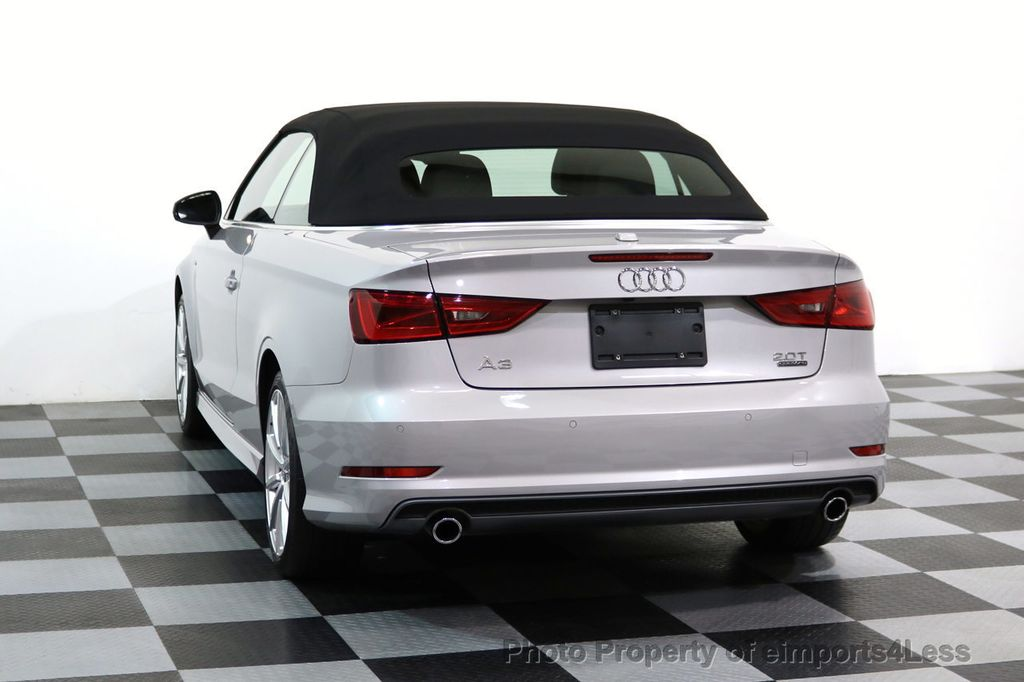 2015 Audi A3 Cabriolet CERTIFIED A3 2.0T Quattro PRESTIGE AWD CABRIOLET - 17160380 - 45