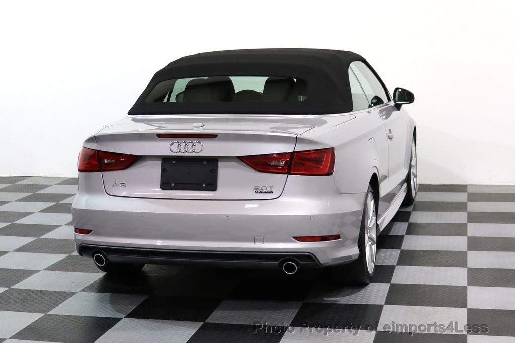 2015 Audi A3 Cabriolet CERTIFIED A3 2.0T Quattro PRESTIGE AWD CABRIOLET - 17160380 - 46