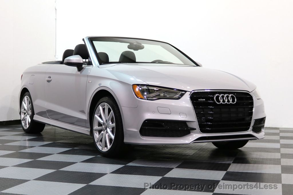 2015 Audi A3 Cabriolet CERTIFIED A3 2.0T Quattro PRESTIGE AWD CABRIOLET - 17160380 - 47