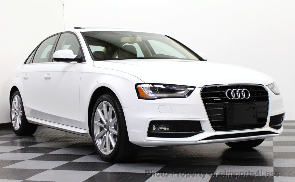 2015 used audi a4 certified a4 quattro premium plus awd tech navi at eimports4less. Black Bedroom Furniture Sets. Home Design Ideas