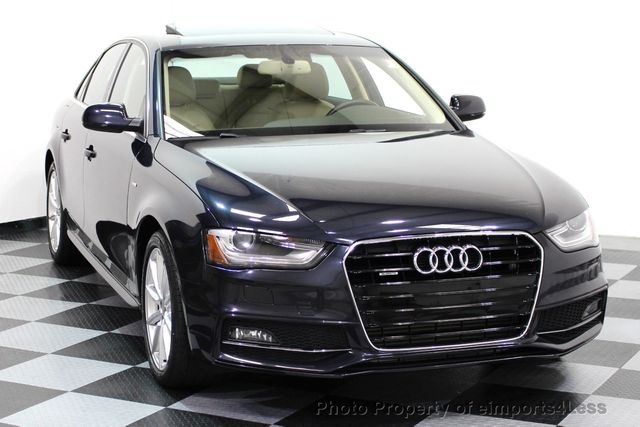 2015 used audi a4 certified a4 quattro s line premium. Black Bedroom Furniture Sets. Home Design Ideas