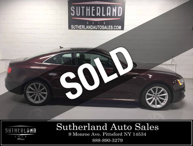 2015 Used Audi A5 2dr Coupe Manual quattro 2 0T Premium Plus at Sutherland  Service Center Serving Pittsford, NY, IID 18804524
