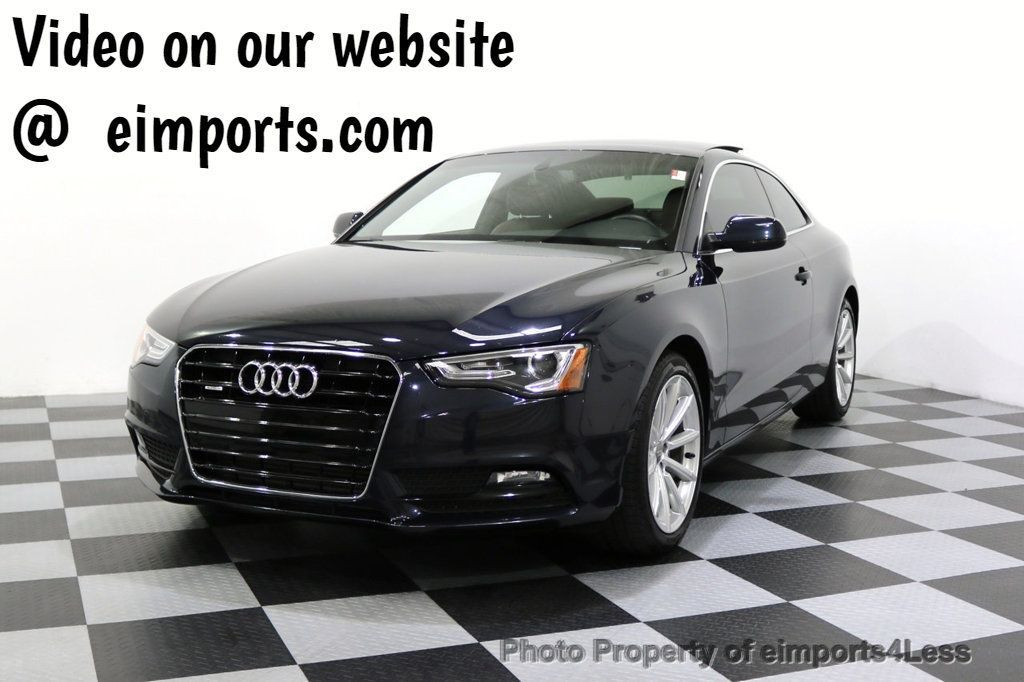 2015 Audi A5 CERTIFIED A5 2.0t Quattro AWD 6 SPEED MANUAL TRANSMISSION - 17718772 - 0