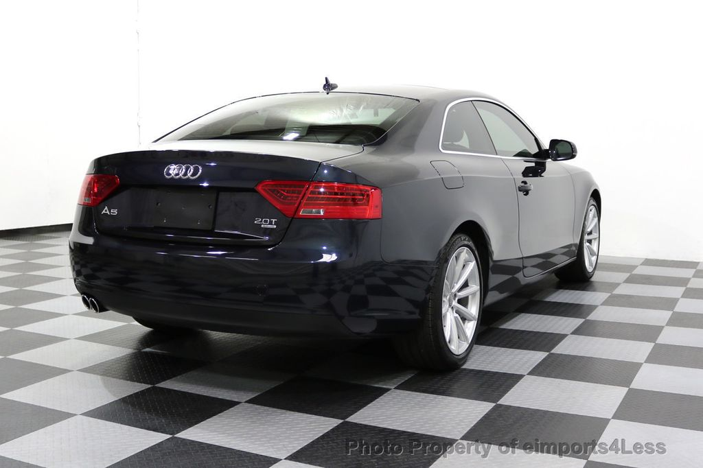 2015 Audi A5 CERTIFIED A5 2.0t Quattro AWD 6 SPEED MANUAL TRANSMISSION - 17718772 - 18
