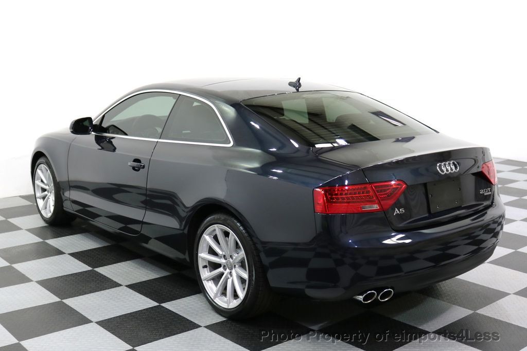 2015 Audi A5 CERTIFIED A5 2.0t Quattro AWD 6 SPEED MANUAL TRANSMISSION - 17718772 - 2