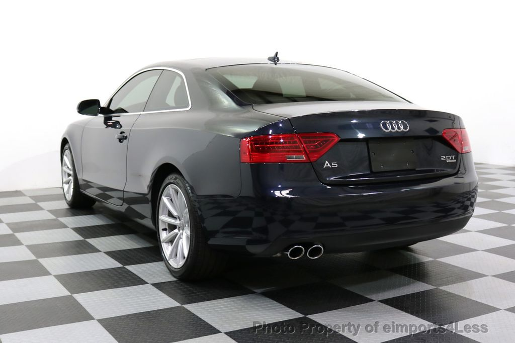 2015 Audi A5 CERTIFIED A5 2.0t Quattro AWD 6 SPEED MANUAL TRANSMISSION - 17718772 - 30